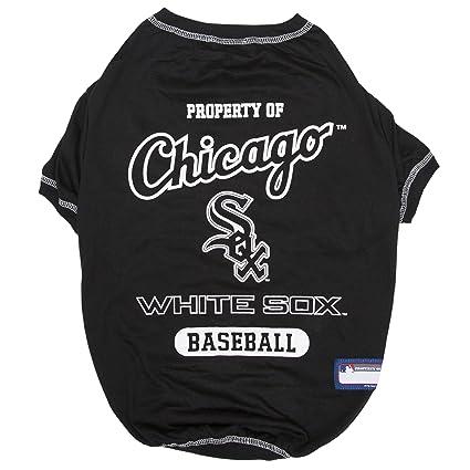 270b6b89a Amazon.com : MLB Chicago White SOX Dog T-Shirt, X-Large. - Licensed ...