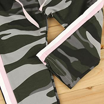 puseky - Chándal - para niña Multicolor Camouflage 1 Años: Amazon ...
