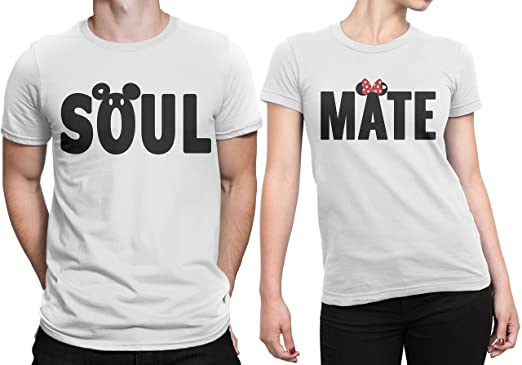 Dressify couple t shirt soul mate amazon clothing accessories
