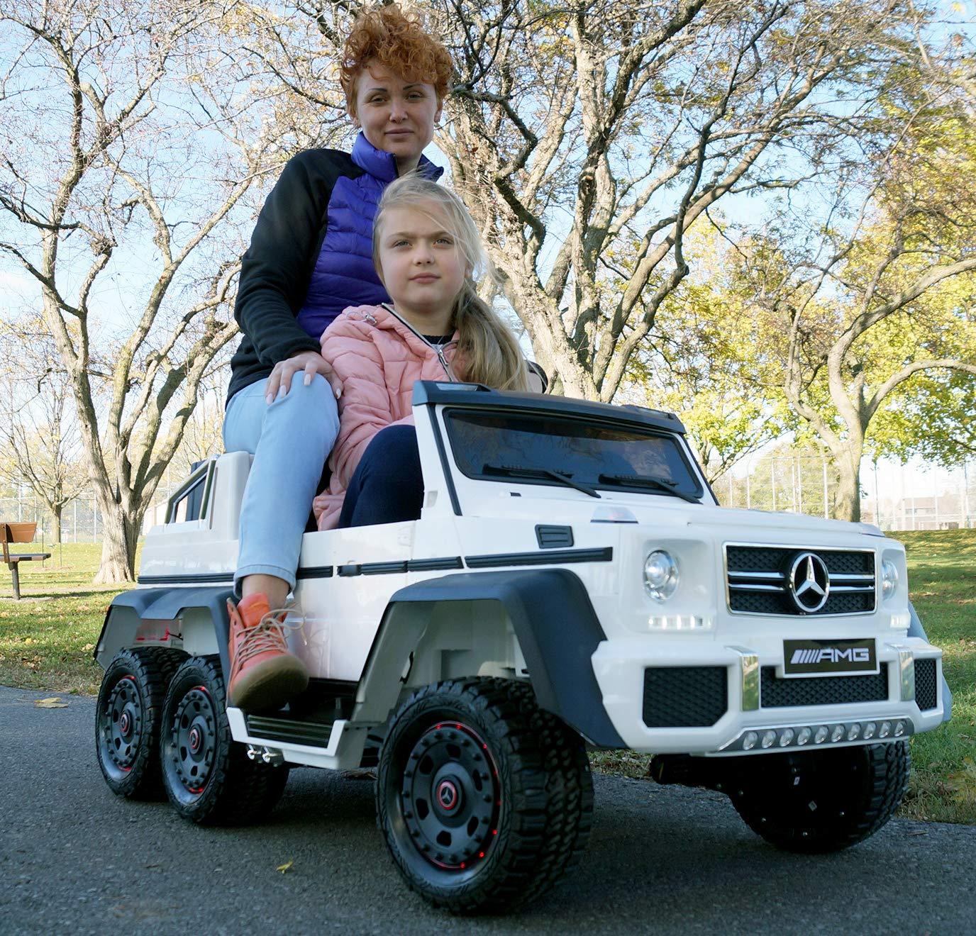 Mercedes Power Wheels >> Amazon Com Ride On Toy Mercedes Amg Licensed Power Wheels 12 Volt