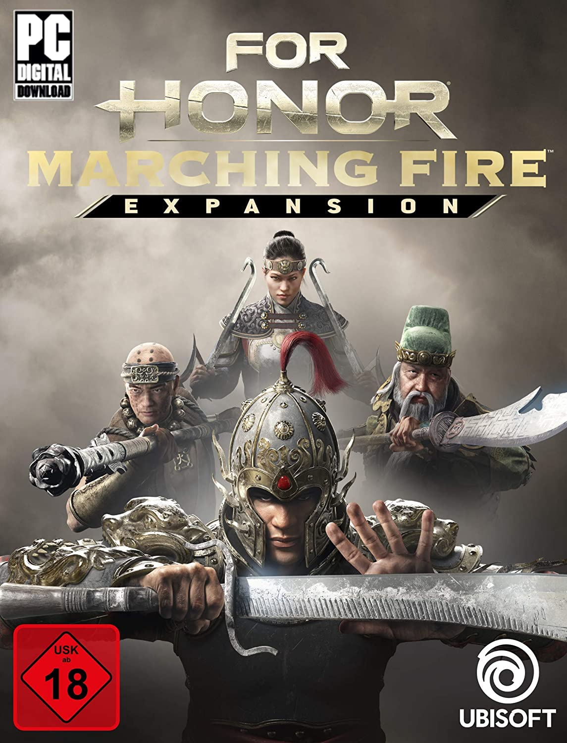 For Honor Marching fire Expansion DLC PC Download Uplay Code