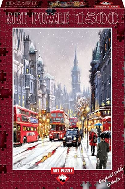 Whitehall In Snow By The Macneil Studio 1500 Piece Puzzle