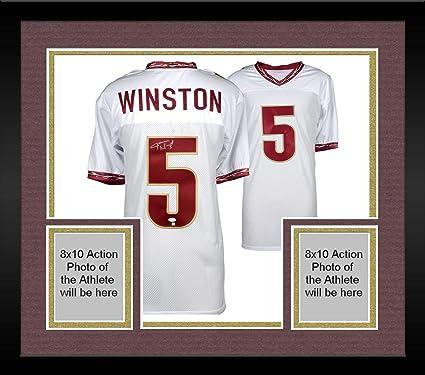 Framed Jameis Winston Florida State Seminoles Autographed White ...