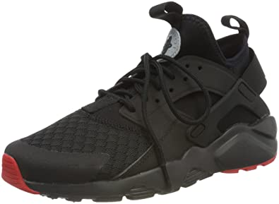 nike air huarache ultra black and red
