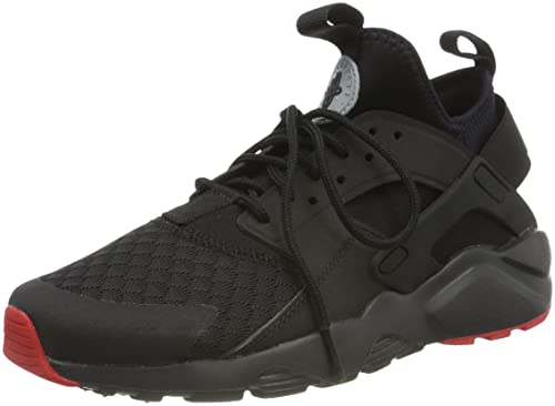 premium selection ca514 412a1 Nike Men's AIR Huarache Run Ultra Black/M.Silver Running Shoes-10 ...