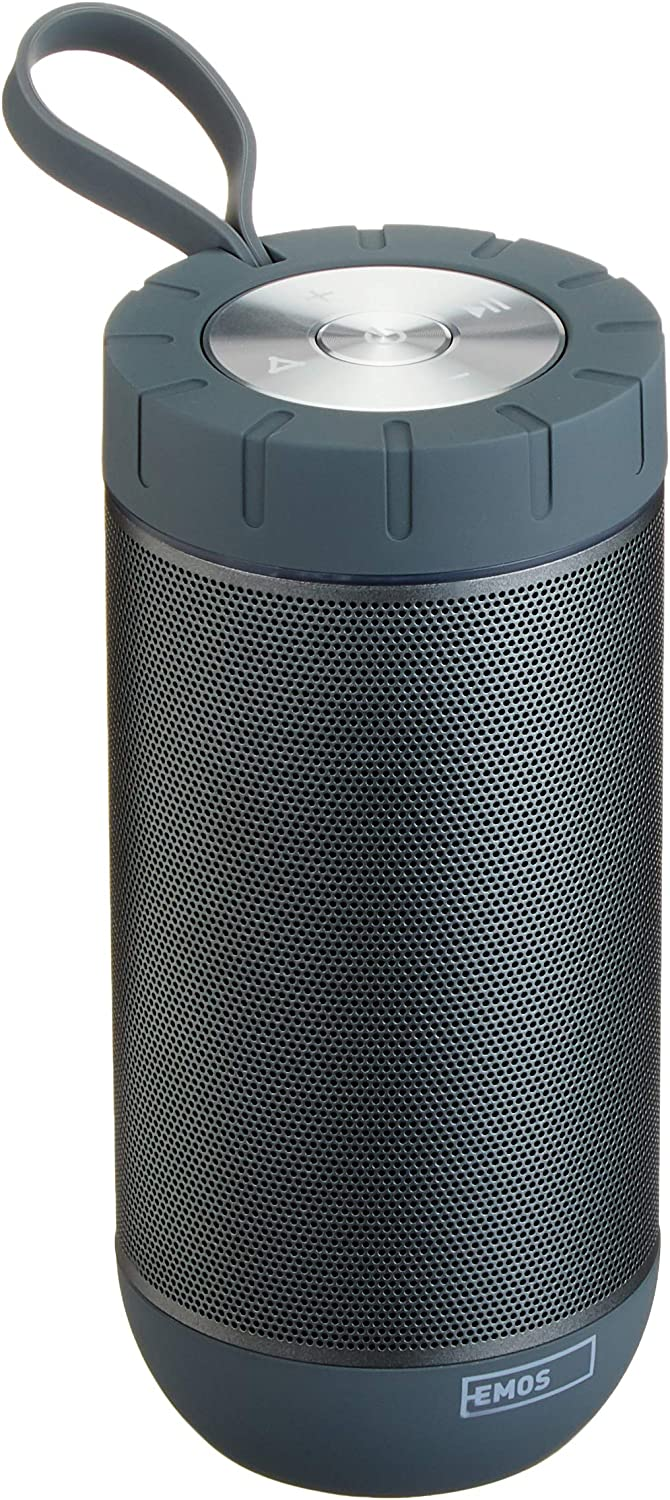 Emos P26 de G Sonido Boss Bluetooth Loudspeaker Sonido Boss 2 x 6 W Black/Grey/Chrome