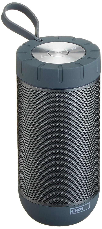 EMOS SOUNDBOSS wasserdichter Bluetooth Lautsprecher Schwarz/Grau ...