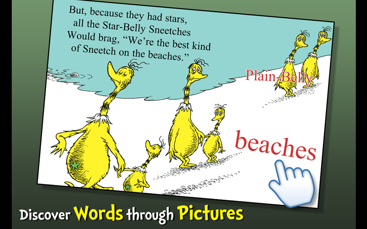 Amazon the sneetches dr seuss appstore for android sciox Choice Image