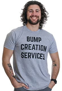 3000d7c8 The Man Behind The Bump | Proud New Father Pregnancy Dad Unisex T-Shirt