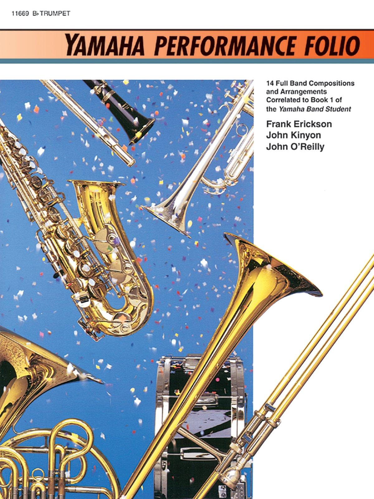 Yamaha Performance Folio: B-Flat Trumpet (Yamaha Band Method)