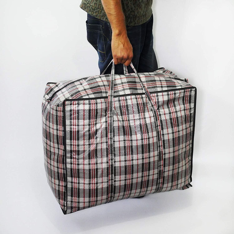 LLOYA Large Laundry Reusable Moving Storage Bag Pack of 8 X LARGE