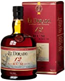 El Dorado 12 Year Old Gold Rum, 70 cl