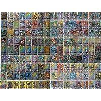Blesser Pokemonkort, Pokemon GX samlarkort, 120 stycken pokékort med 109 GX pokékort och 11 träningspass (120-pack)