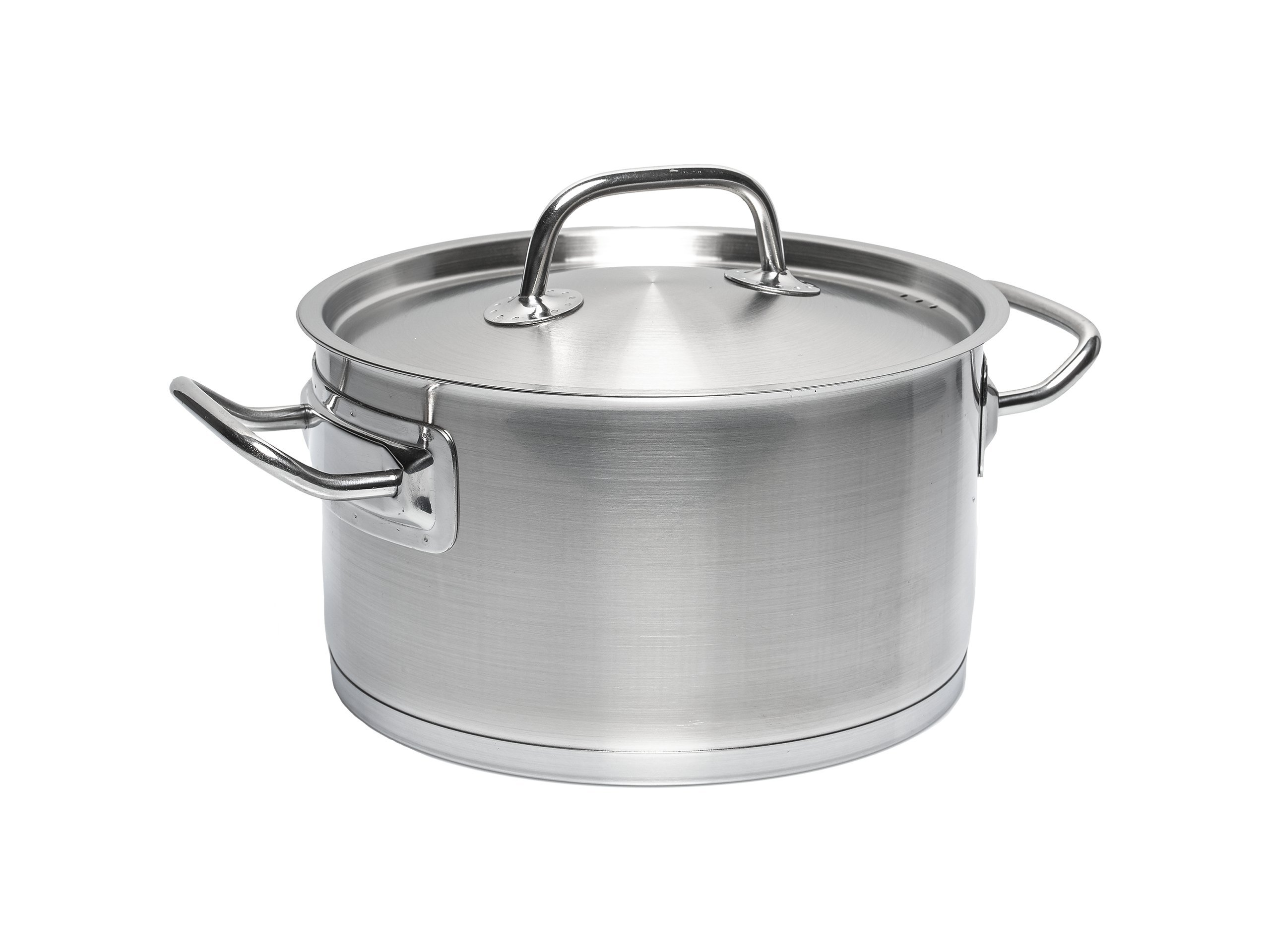 Sola Profiline Deluxe Cooking Pot, Stainless Steel, Stainless Steel Colour, 16 cm/1.5 Litre
