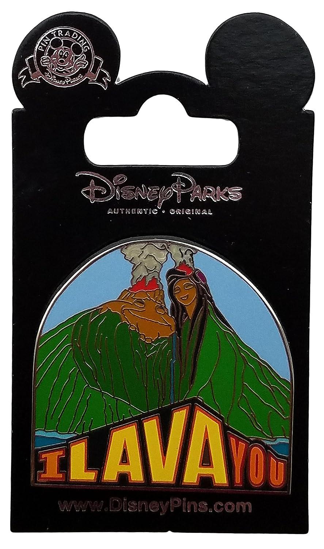 Disney Pin - Uku and Lele - I LAVA YOU