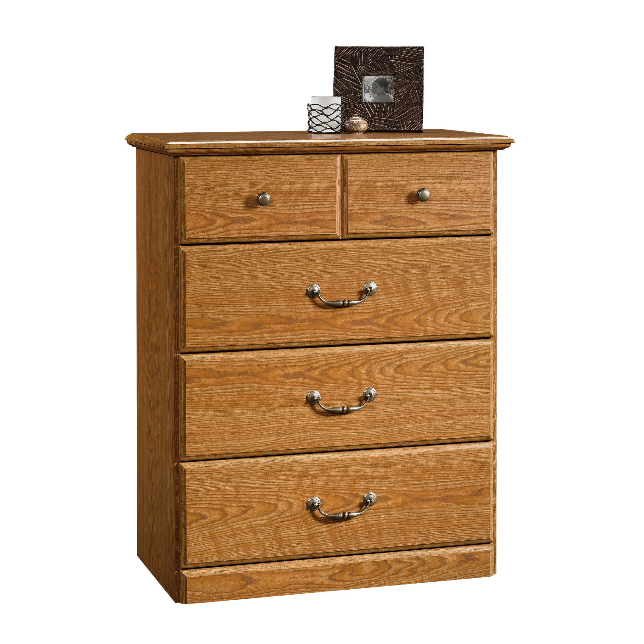 Sauder 401291 Orchard Hills 4-Drawer Chest, L: 30.95'' x W: 16.81'' x H: 39.80'', Carolina Oak finish