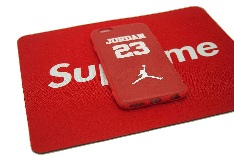 Funda Carcasa de Silicona iPhone 6 o iPhone 6s J 23 Basketball ...
