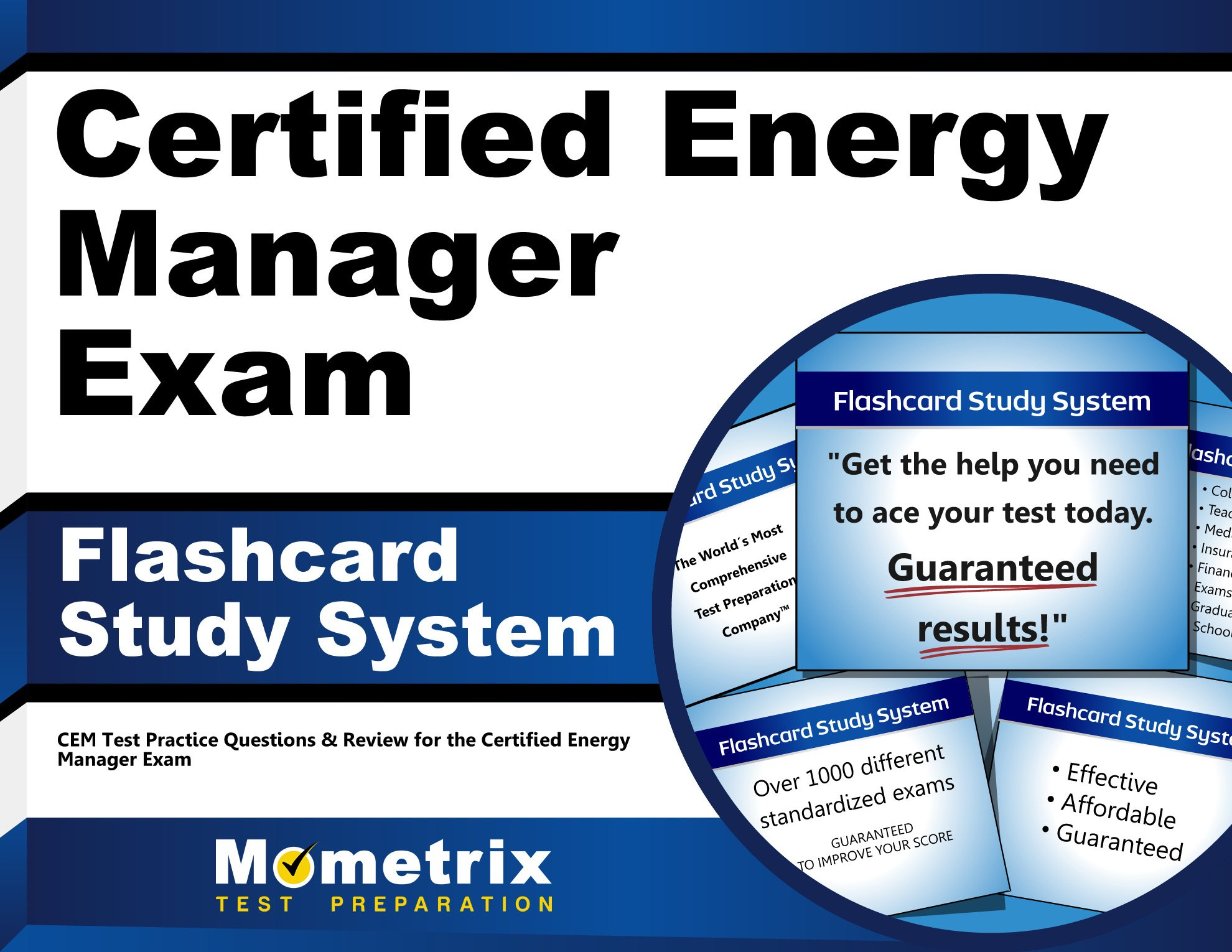 Certified Energy Manager Exam Flashcard Study System Cem Test