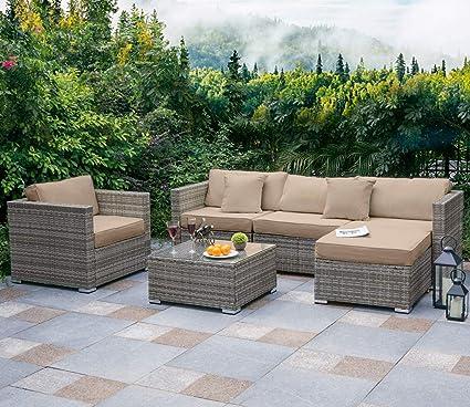 Amazon.com: Tribesigns - Juego de 6 piezas de muebles de ...