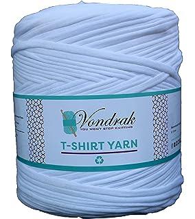 Amazon.com: Camiseta de algodón azul hilo de verano bolsa de ...