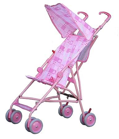 Amazon.com : BeBeLove Single Umbrella Stroller (Pattern Pink) : Baby