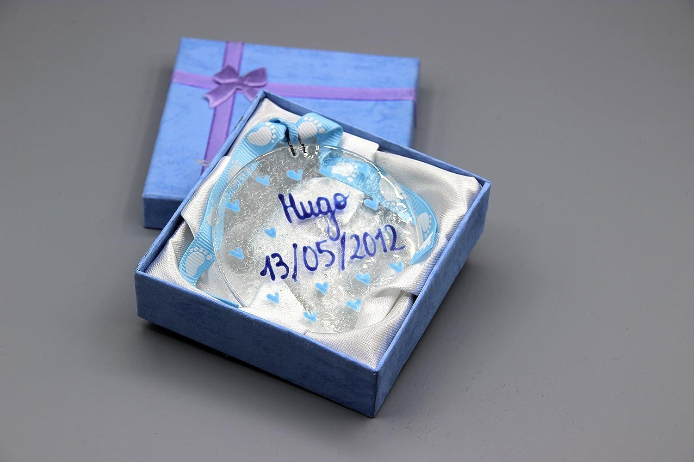 maternit/é originalb/éb/é gar/çon mon premier cadeau verre fusionn/é- d/éco chambre b/éb/é souvenir Boule desouvenir b/éb/é shower cadeau bapt/ême