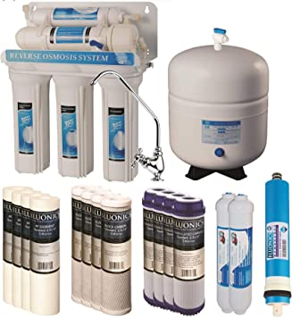 5 Etapa de ósmosis inversa agua potable sistema Ro casa ...