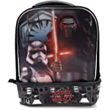 Star Wars The Force Awakens Kylo Ren The Dark Side Kids Insulated 2-Section Padded Lunch Bags Lunchbox