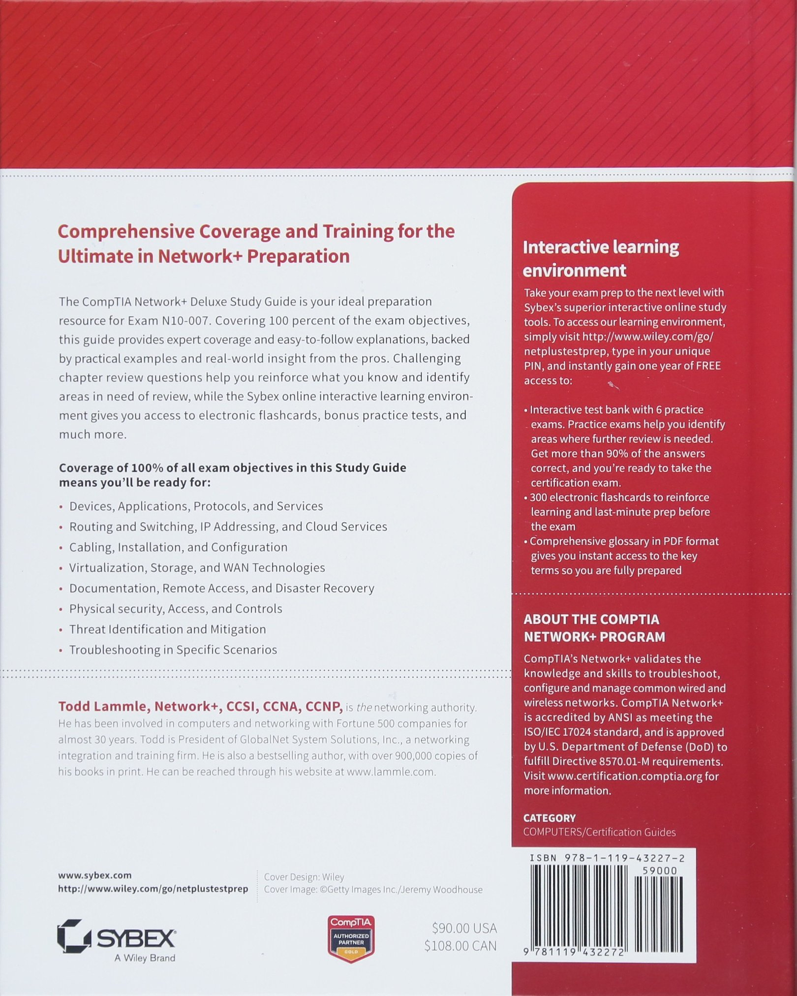 Buy Comptia Network Deluxe Study Guide Exam N10 007 Book Online At