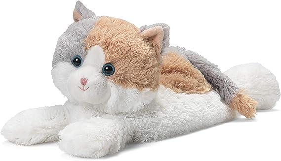 Warmies Cozy Plush Black /& White Cat au micro-ondes Peluche