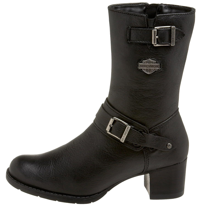 Amazon.com   Harley-Davidson Women's Serita Work Boot, Black, 9.5 M US    Mid-Calf