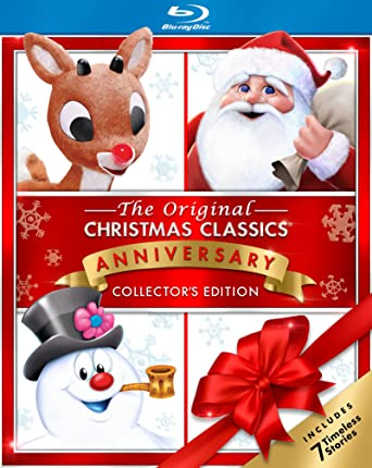 christmas classics with frosty rudolph and santa blu ray