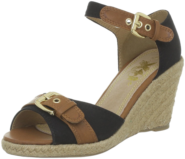 Xti 25840, Alpargatas para Mujer, Noir (Negro), 36 EU: Amazon.es: Zapatos y complementos