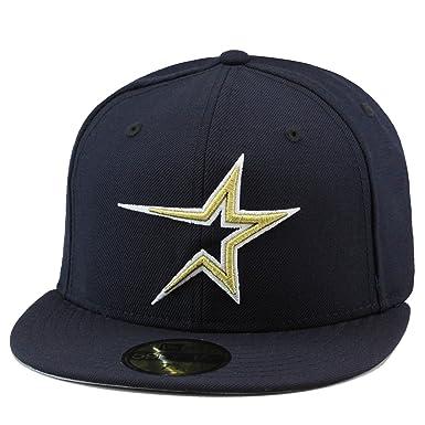 houston astros baseball caps new era fitted hat cap navy metallic gold online