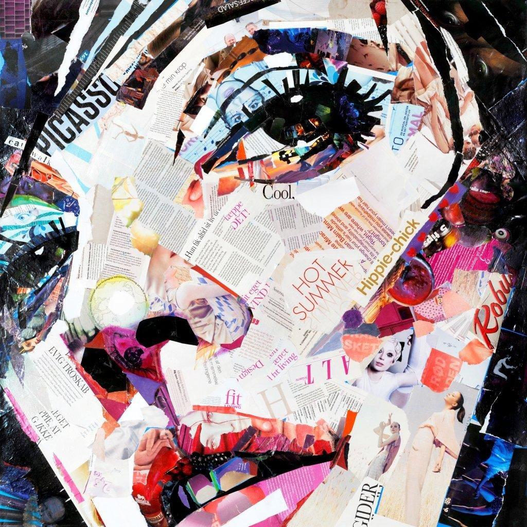 Incado 70 x 70 x 4 cm James Grey Shes got the look Design Art JG101-7070-L