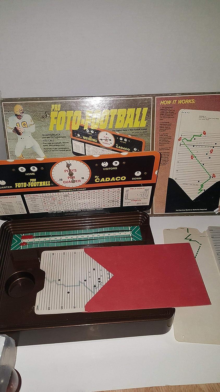 1977 Vintage Football Strategy Game: Pro Foto-Football