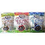 Nutri Source Soft & Tender Natural Formula With Added Vitamins & Minerals Dog Treat 3 Flavor Variety Bundle: (1…