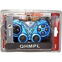Quantum QHM7487-2V-C USB Game Pad with Turbo Function (Blue)