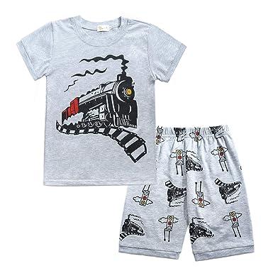 13154501e Amazon.com: Toddler Boys Pajamas Easter Little Kids Pjs Dino ...