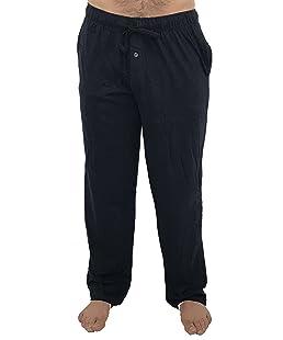 At The Buzzer 14500-Navy-L Men's Pajama Pants/Sleepwear/PJs