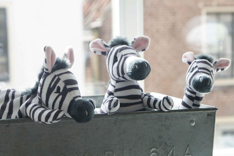 Bebe-jou 308255 Dummy Chain Dinkey Zebra Plush