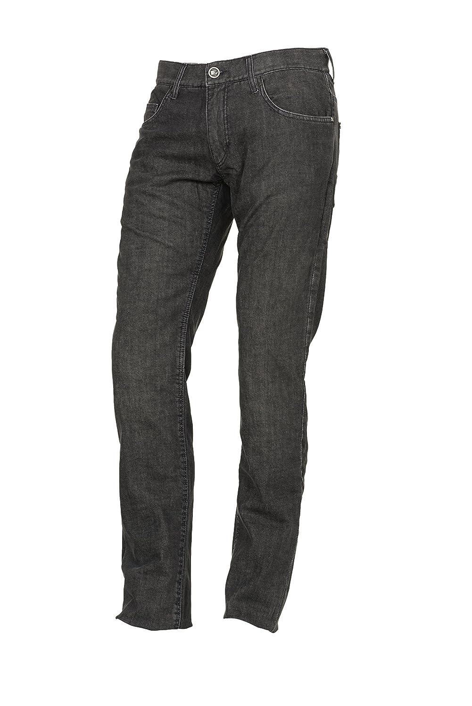 Esquad Pantalón de Vaquero para Moto, Gris Deperlant, Talla 42