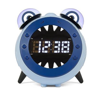 Nikkei nr280ps Hark – – Digital despertador Niños Radio Reloj Despertador con proyección/projeck tions