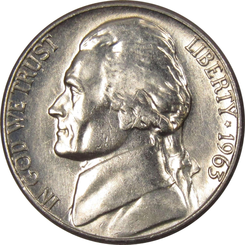 1963 Jefferson Nickel Gem Proof Uncirculated