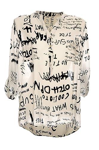 Italy Fashion - Camisas - cuello mao - para mujer