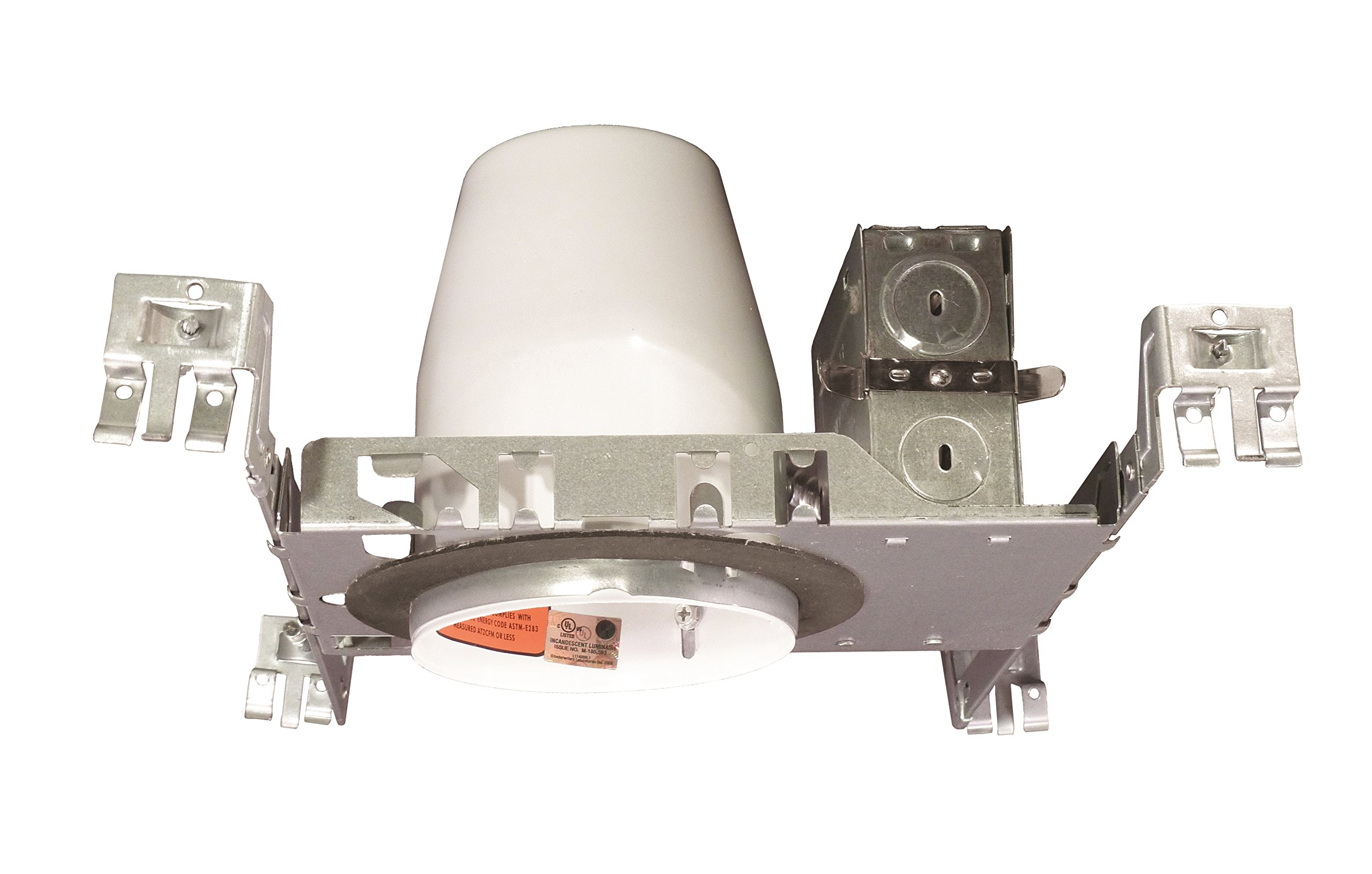 NICOR Lighting 4-Inch IC-Rated Airtight LED Downlight Recessed New Construction Housing (19000A-LED-ID)