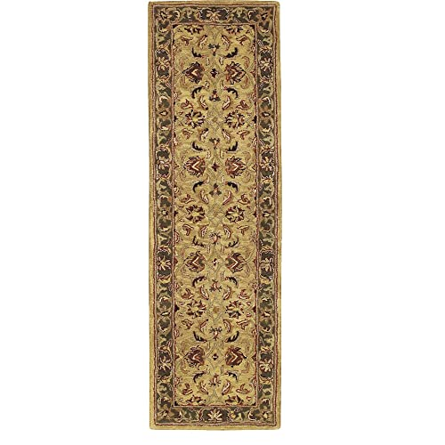 Nourison India House IH17 Gold Runner Area Rug, 2-Feet by 7-Feet 2 x 7