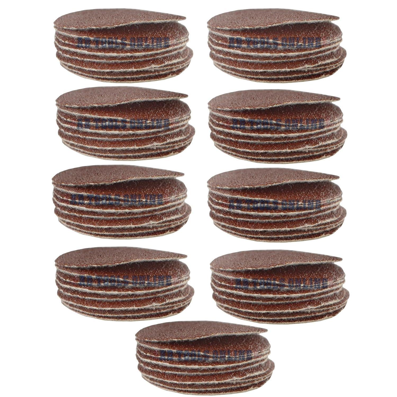 Hook//Loop DA Sanding Grinding Abrasive Pad 40 Grit Discs 2 50mm 100 Pack