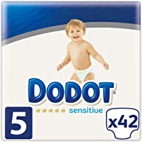 Dodot Sensitive - Pañales Talla 5, 42 Pañales