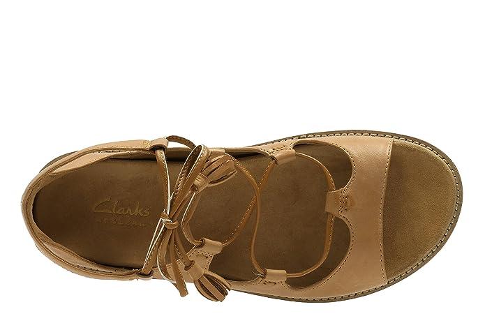 Clarks Corsio Dallas Damen Zurück Schuhe Sandalen Clarks